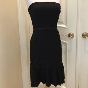 NWOT White House/Black Market strapless dress